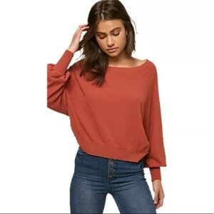 O'Neill Keiki Pullover Sweater-Redwood